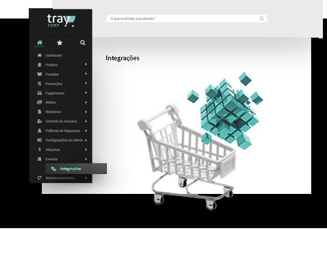 Tenha um ecossistema de e-commerce a sua disposição