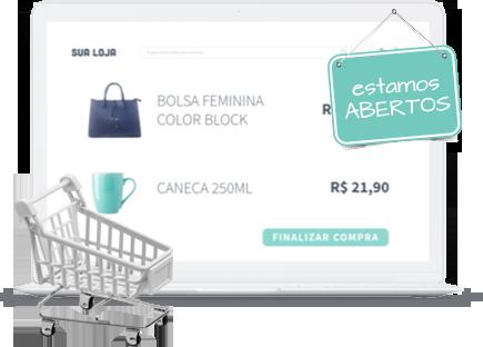 Seu comércio físico totalmente integrado ao e-commerce